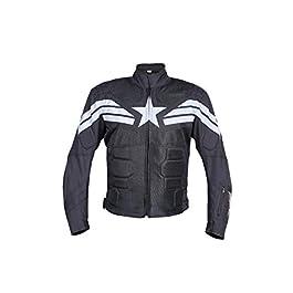 BIKING BROTHERHOOD Captain Jacket (Black, XXL)