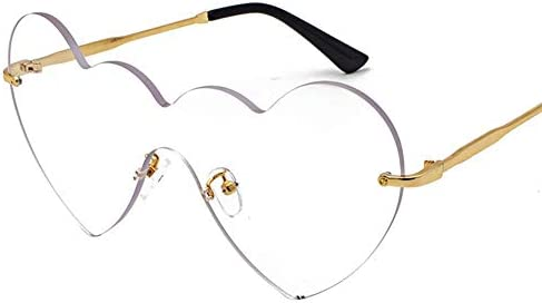 ZUEN Modische Sonnenbrille, Goldrand-Feld-Silikon-Nasenpads Hochpräzisions-Gegendruckschließvorgang Geeignet Für Outdoor-Jugendliche