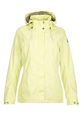 Zip with Off Women's Hood Functional yellow light Killtec Jacket Lineria qIwOxXw4P