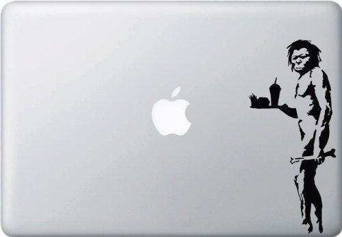 Fast Food Caveman - Vinyl Laptop or Macbook Decal (3.3