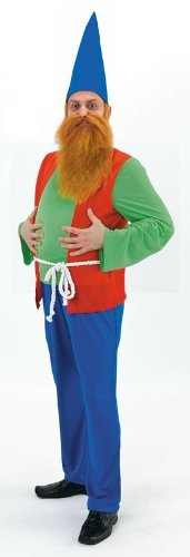 Dopey Gnome Costume - Adult Male One Size by Palmer