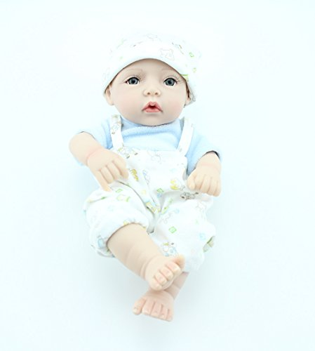 Real Looking Baby Doll Mini Full Vinyl Boys Doll 10 inch Hot Sale Gift