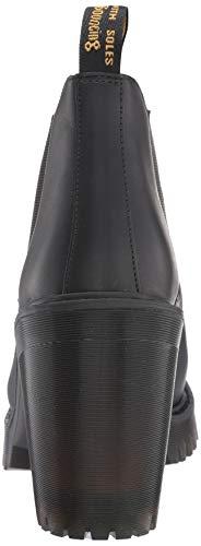 Hurston Nero Chelsea black 001 Martens Donna Dr Stivali SwOB45qz