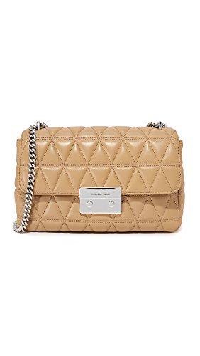 MICHAEL Michael Kors Women's Sloan Chain Shoulder Bag, Cashew, One Size