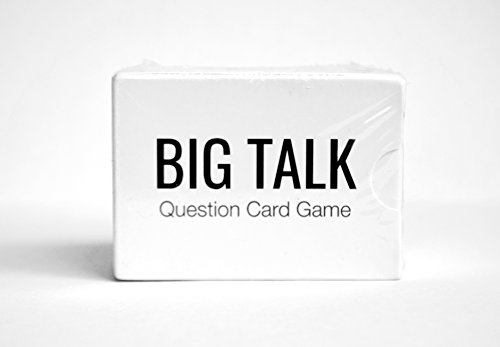 BIG TALK Question Card Game: Skip Small Talk, Make Meaningful Connections - Unique Conversation Starters, Fun Party Icebreaker Activity, Useful Networking, Educational, and Therapy Tool - 88 -