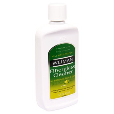 Weiman Fiberglass Cleaner, 16 Ounce - 6 per case.