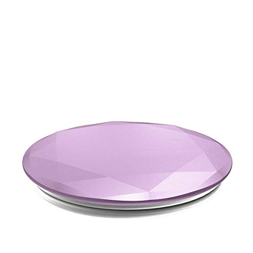PopSockets: Collapsible Grip & Stand for Phones and Tablets - Lilac Metallic Diamond