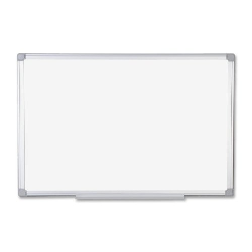 MasterVision MA2700790 Earth Easy-Clean Dry Erase Board, 48 x 72, Aluminum Frame by BVC 1.6