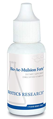 Biotics Research Bio-Ae-Mulsion Forte ® - 12,500 IU Emulsified Vitamin A for Greater Uptake & Utilization, Concentrated, Promotes Immune Response, Aids in Visual Acuity, Support Cardiovascular 1Fl Oz ()