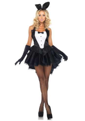 [PrettySinful womens Tux and Tails Bunny Costume X-Large] (Bunny Dress Tux Tails Adult Costumes)