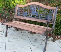 Oakland Living Horse Bench (Iron Oakland Horse)