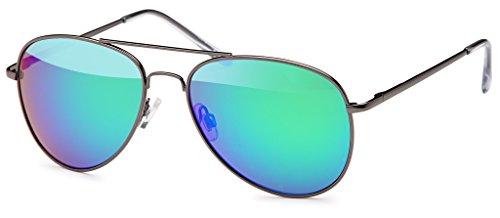 de Piloto 70 Ice de Y los Década sol aviador De Gafas Años Gafas de reflectante de Mujeres Hombres Gafas Black Gafas Sol CpxgFqwq