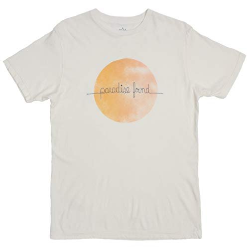 69bfc0c57 ALTRU APPAREL Paradise Found Embroidered Nature White Graphic tee