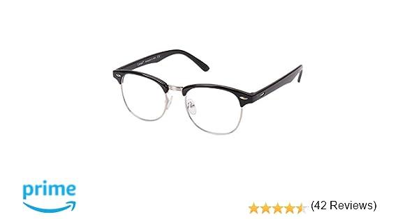 ef414f6fac Cyxus Gafas con Filtro de luz Azul para Bloquear el Dolor de Cabeza por  Rayos Ultravioleta [Lucha contra la Vista del Ojo] Gafas Transparentes para  Juegos, ...