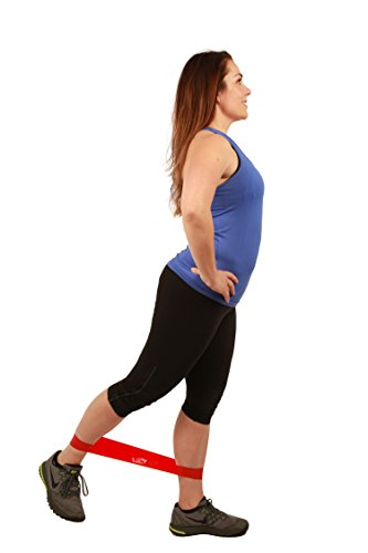 Home Workout Equipment. Fit Simplify Resistance Loop Exercise Bands with Instruction Guide, Carry Bag, EBook and Online Workout Videos, Set of 5. #exerciseequipment