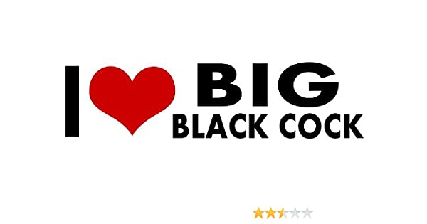 big black dick tiny teen - Amazon.com: Big Black Cock I Love My STICKER Heart DECAL VINYL BUMPER DECOR  CAR Graphic Wall Gay Pride Prank Funny Humor: Home & Kitchen