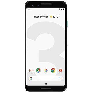 Google Pixel 3 Unlocked GSM/CDMA - US Warranty (Direct from Google) (Clearly White, 128GB) (Renewed)