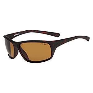 Nike Golf Adrenaline P Sunglasses, Matte Tortoise/Cargo Khaki Frame, Polarized Brown Lens