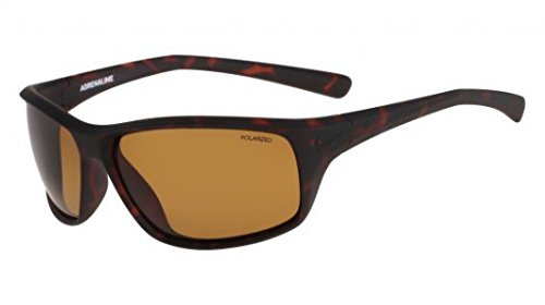 Nike Golf Adrenaline P Sunglasses, Matte Tortoise/Cargo Khaki Frame, Polarized Brown Lens by Nike Golf