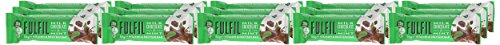 Fulfil Milk Chocolate & Mint Vitamin and Protein Bar - Pack of 15 by Fulfil (Image #1)