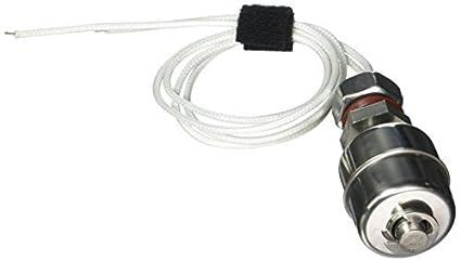 Interruptor de flotador eDealMax líquido del agua Nivel de acero inoxidable