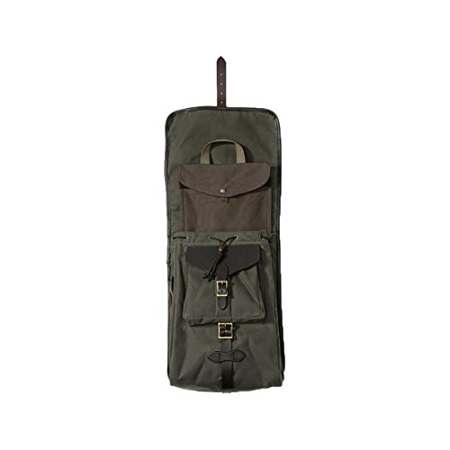 Filson Unisex Tin Cloth Backpack Otter Green 1 Backpack by Filson (Image #2)