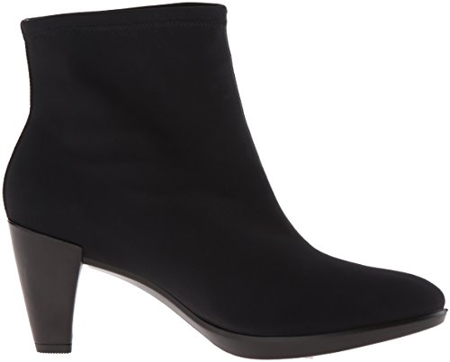 Boot Ankle Ecco Women's Women's Textile Black Plateau 55 Shape U7Yfvq