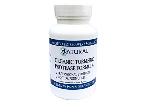 Cheap Recovery w/Turmeric & Advanced Protease. Doctor Formulated. Promotes Healing. Assists Pain and Inflammation. Non-GMO, Vegan, 0 Fillers. Made in The USA (1)