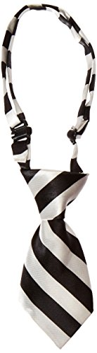 (Mirage Pet Products Dog Neck Tie, White Striped)