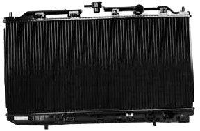TYC 1110 Acura Integra 2-Row Plastic Copper Replacement Radiator Acura Integra Oem Radiator