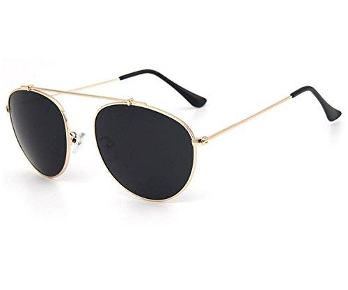 Clubmaster Classic Square Sunglasses Silver Flash Lense - 6