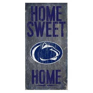 "Fan Creations Penn State Nittany Lions Wood Sign - Home Sweet Home 6""x12"" 69"