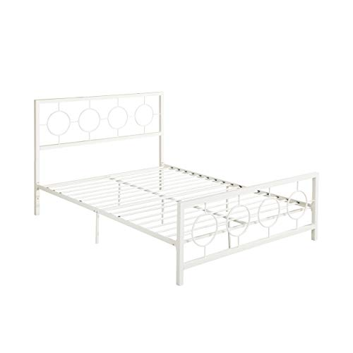 Industrial Sally Queen-Size Iron Bed Frame Minimal