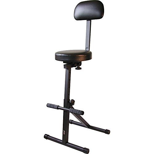 Odyssey DJCHAIR Adjustable Dj Chair ...  sc 1 st  Song Simian & The 4 Best Guitar Practice Chairs u0026 Stools u2014 Reviews 2017 islam-shia.org