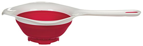 Prepworks by Progressive Collapsible Hand Strainer, (Progressive 1.5 Quart Collapsible)