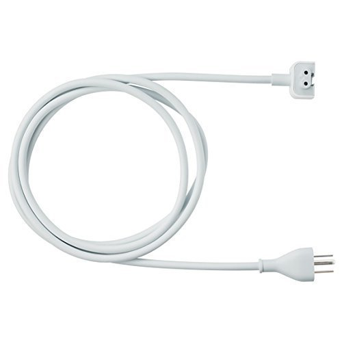 Tesha 6ft Power Adapter Extension Wall Cord Cable for Apple Mac Ibook Macbook Pro Us Plug by tesha