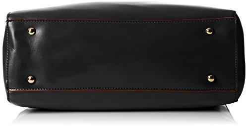 SwankySwans–Kelly bicolore Borsa a tracolla Black (Black)