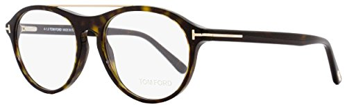Tom Ford TF 5411/V Eyeglasses 052 Dark Havana-Gold Clear Lens 53 - Lenses Tom Ford