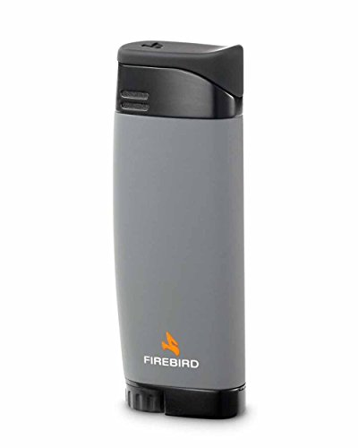 (Fusion Single Torch Cigar and Cigarette Lighter Warranty Grey)