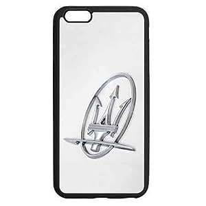 Novelty Fine Cover With Unique Brand Logo Exquisite Case Funda Fit Para Iphone 6/6s Plus 5.5 Inch Maserati