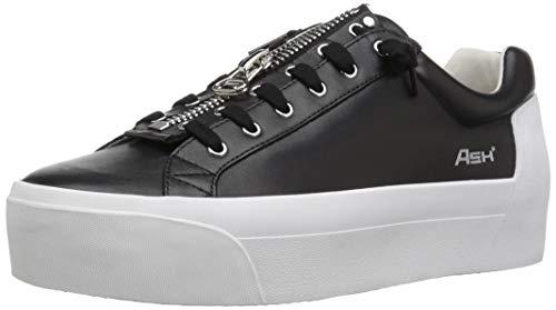 Ash Women's Buzz Sneaker, Nappa Calf Black, 40 M EU (10 US) ()