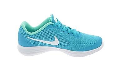 Nike Girls' Revolution 3 (GS) Running Shoes, Chlorine Blue