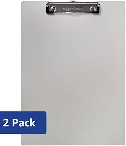 AmazonBasics Aluminum Clipboard Letter Size
