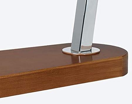 BRICOMIRAS JAMONERO Modelo Ronda Color Nogal Sistema CORREDERA, Ideal para Bares Y RESTAURANTES Y HOGARES, Soporte JAMONERO