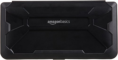 AmazonBasics Vault Case for Nintendo Switch, Black