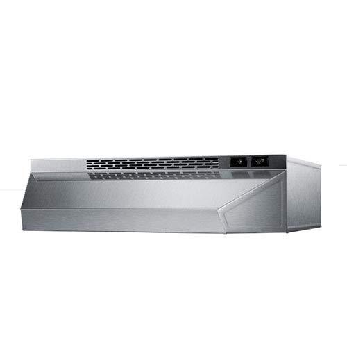 Stainless Steel Hood Shell - Summit H1620SS Range Hoods, Stainless-Steel