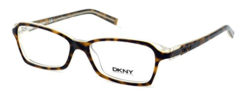 - DKNY Donna Karan New York Designer Optical Eyeglasses DY4618-3471 in Havana Crystal