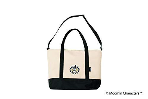 MOOMIN 2WAY BIG BAG BOOK BLACK 画像 B
