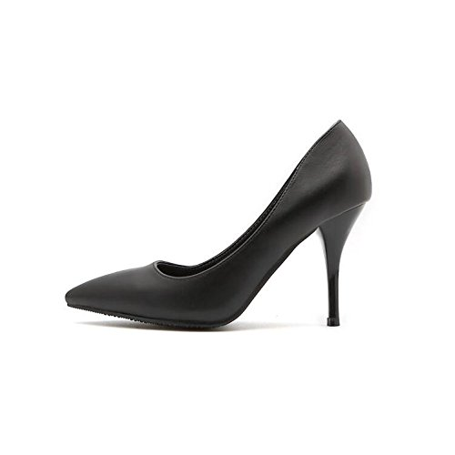 Mujeres En Zapatos Zapatos El De Alto Para Alto De Con Verano Negro8 GAOLIM Tacón El Verbo Zapatos El Estudiantes Verano Talón Y Sandalias De 5Cm El Mujer xB1qnwY0