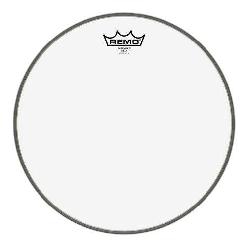 Remo BD0313-00 Clear Diplomat Drum Head - 13-Inch - Remo Clear Pinstripe Head